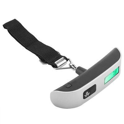 50kg LCD Digital Travel Luggage Postal Hanging Hook Electronic Weighing Scale 6