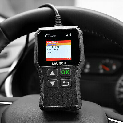 Launch CR319 Profi OBD2 Diagnosegerät Tool Auto KFZ Scanner Fehlerauslesegerät 9