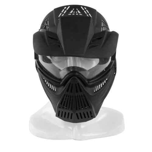 Full Face Protective Safety with Goggles Mask Tactical CS Game Paintball Airsoft 2