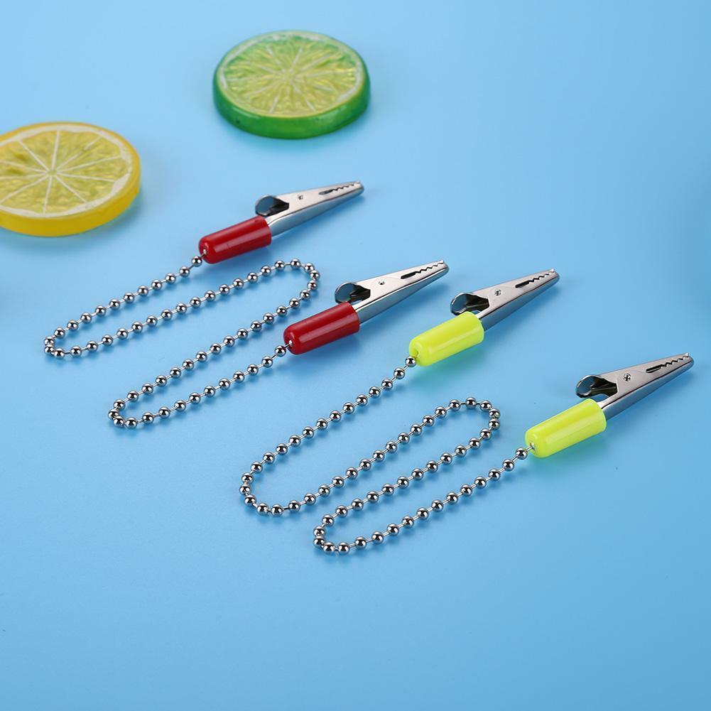 1pcs Dental Lab Bib Clips Napkin Holder Flexible Ball Chain Bib Clips Dentist 7