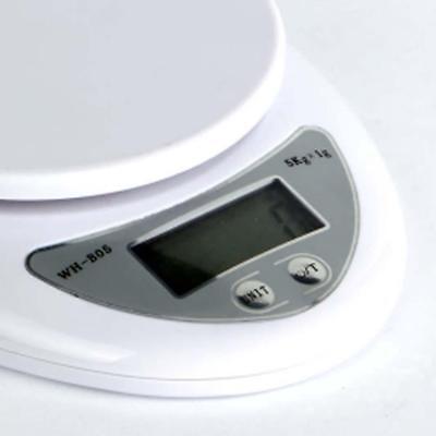 5kg 5000g/1g Digital Electronic Kitchen Food Diet Postal Scale Weight Balance Ar 10