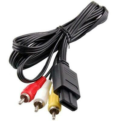 AV Video Audio Cable Lead Wires for Nintendo N64 GameCube System NGC GC SNES PAL 3