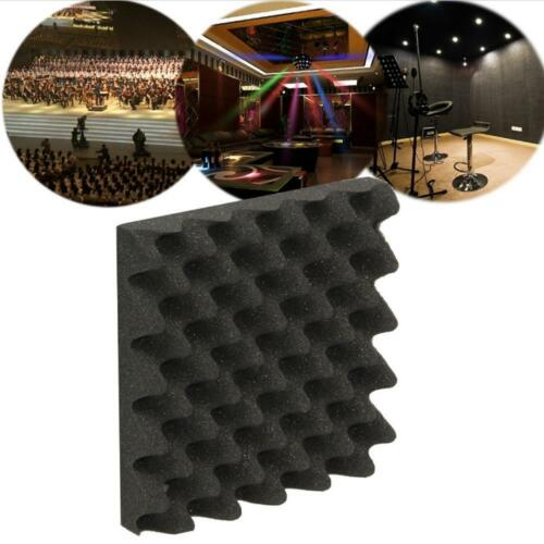 50x50cm Soundproof Acoustic Sound Insulation Stop Absorption Studio Foam S S8A2 8