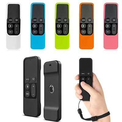 Remote Controller Silicone Game Sleeve Cover Cases Skin for Apple TV4th Gen Siri