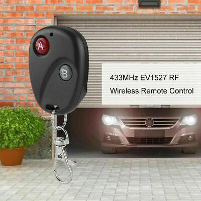 1/2/3/4Button 433Mhz Smart Remote Control Switch RF Transmitter For Garage Door 5