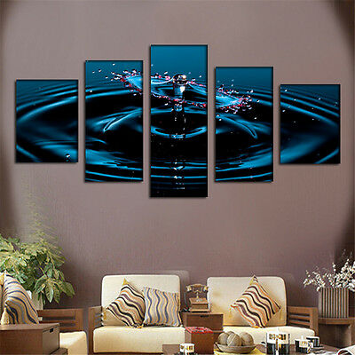 Large Modern Art Oil Paintings Canvas Print Unframed Pictures Home Wall Decor