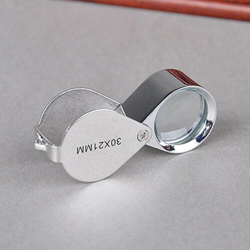 30x Juwelier Schmuck Vergrößerungs glas Reparatur Uhrmacher Lupe* ._DED D6J3 7
