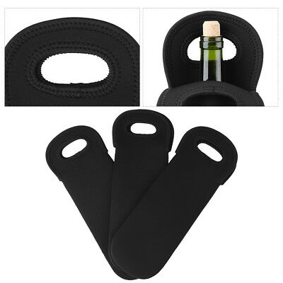 3PC/Pack Wine Cooler Holders Neoprene Water Bottle Carry Bag Champagne Beer Can 7