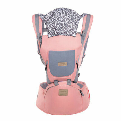 Ergonomic Infant Baby Carrier With Hip Seat Stool Adjustable Wrap Sling Backpack 11