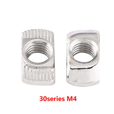 50/100 Hammer Head T Nut M4 M5 M6 20 30 40 Series European Profile Extrusion inm 8