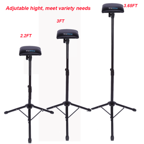 Adjustable Foldable Tattoo Tripod Stand For Arm Leg Rest Studio Chair Sponge Pad 3