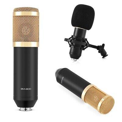 BM800 Condenser Microphone Audio Mic Stand Kit for Studio Recording Broadcasting 11