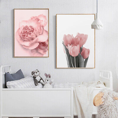Nordic Tulip Flower Canvas Wall Painting Picture Poster Art Home Decor Faddish 3