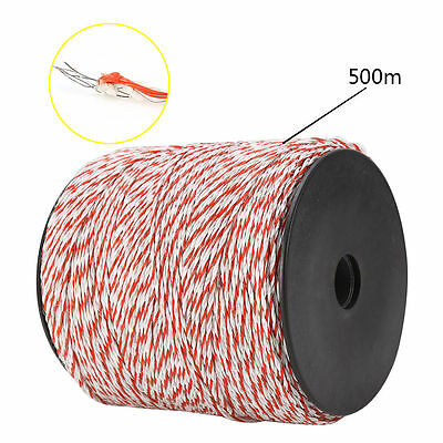 2000M Polywire Roll Electric Fence Energiser Stainless Steel Poly Wire 3