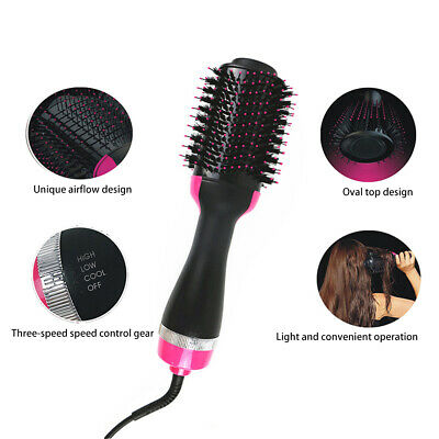 Pro Salon One-Step Hair Dryer and Volumizer Oval Brush Design 2019 HOT DM 5