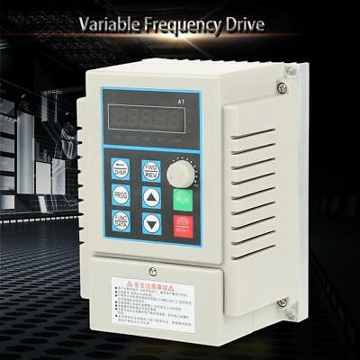 0.45kW VFD 2.5A AC 220V Single/3-Phase Speed Variable Frequency Drive Inverter 7