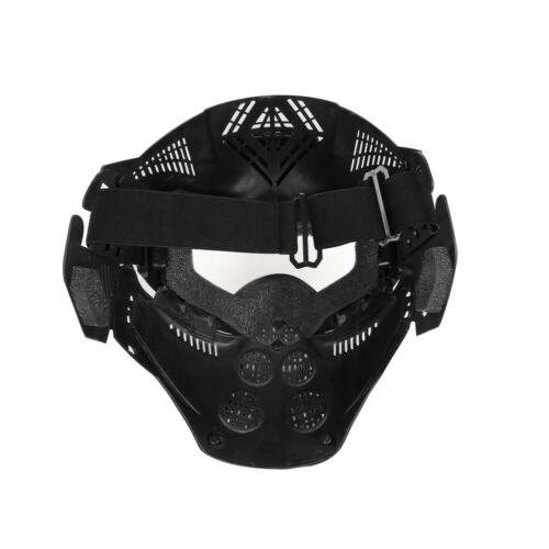 Full Face Protective Safety with Goggles Mask Tactical CS Game Paintball Airsoft 6