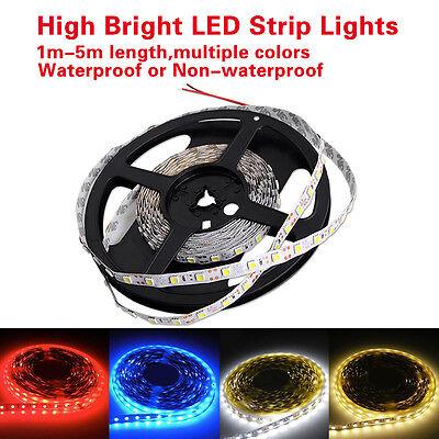 LED Streifen Stripe Licht Band Leiste Lichterkette RGB 5050/3528SMD DC 12V 1m/5m 11