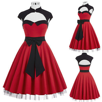 Stile Vintage Retro Swing Pinup 50s 60s Fiocco Casalinga Cocktail Party 4