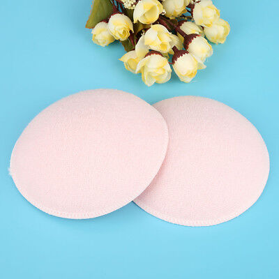 6PCS Feed Washable Reusable Breast Nursing Pads Cotton Absorbent Breastfeeding 11