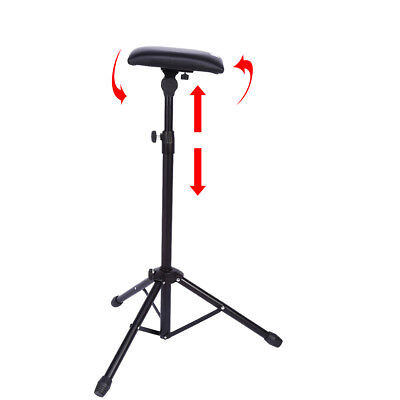 Adjustable Foldable Tattoo Tripod Stand For Arm Leg Rest Studio Chair Sponge Pad 4