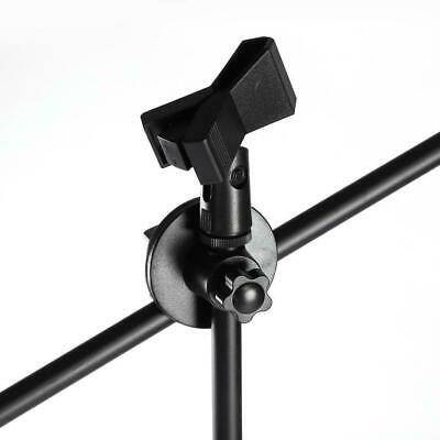 Professional Boom Microphone Mic Stand Holder Adjustable With 2 Free Clips UKGT 12