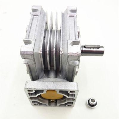 1PC NMRV-030 Worm Gear Speed Reducer NEMA23 Ratio 10 20 30 40 50 60 80:1 57*57mm 7