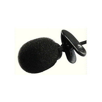 Clip On Lapel Microphone Hands Free Wired Condenser Mini Lavalier Mic 3.5mm Hot 8