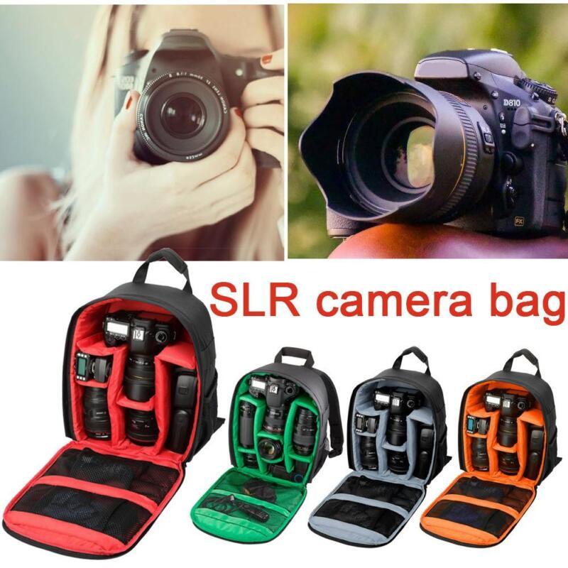 1X For Canon Nikon Sony Travel Waterproof DSLR SLR Camera Bag Backpack Rucksack 2