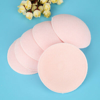 6PCS Feed Washable Reusable Breast Nursing Pads Cotton Absorbent Breastfeeding 8
