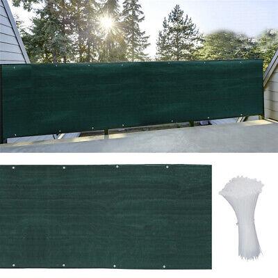 Large Fence Net 95/% UV Block Screening Privacy Windbreak Shade Netting Tarp Net