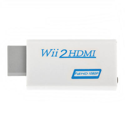 720p 1080p Full HD TV Nintendo Wii auf HDMI Adapter Konverter Stick Upskaler 7