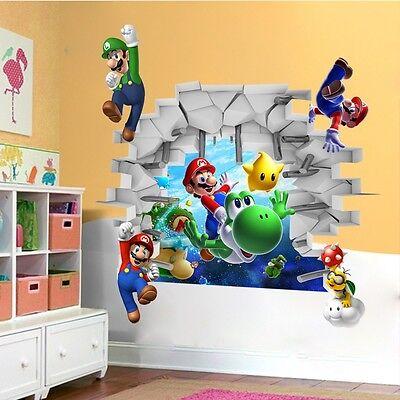 Super Mario Brothers Room Decor – Mario Bedroom Decor