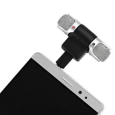 Mini stereo Microfono Registratore audio con jack da 3,5 mm per Smart Phone , 9