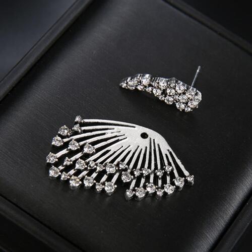 1PCS Trend Punk Style Zircon Statement Ear Stud Earring Women Jewelry Gift 4