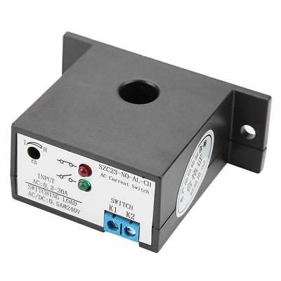 Normally Open Current Sensing Switch Adjustable 0.2-30A SZC23-NO-AL-CH w/LED xi 5