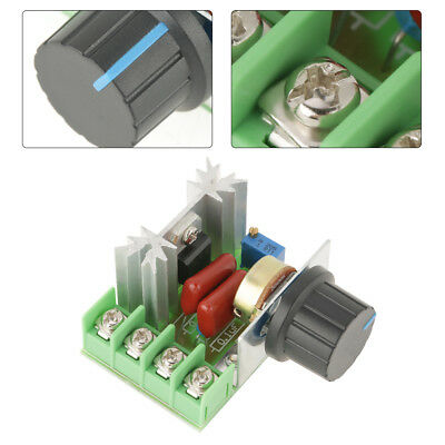 2000W AC Motor Speed Controller 50-220V 25A Adjustable Motor Speed Controller FZ