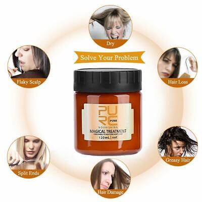 PURC Magical Treatment Mask 5 Seconds Repairs Damage Restore Soft Hair 60 120mL 6