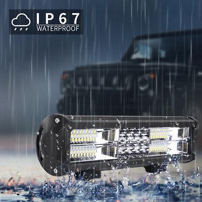 2X 288W LED Arbeitsscheinwerfer 12V 24V Offroad Scheinwerfer Traktor Bagger SUV 7