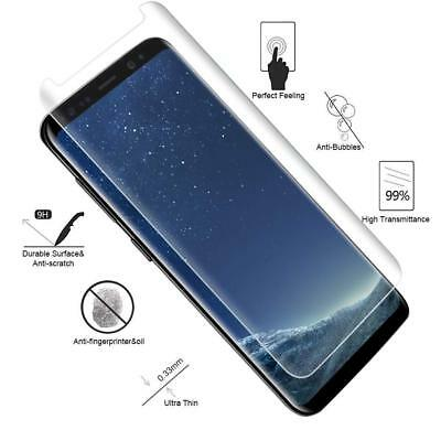 S8 Full Curved 5D Tempered Glass Screen Protector For Samsung Galaxy S8 - CLEAR 7