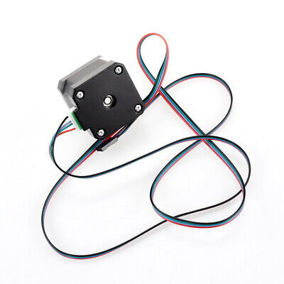 NEMA 17 Stepper Motor 12V 0.4A for CNC Reprap 3D Printer Extruder 36oz-in 26Ncm 10