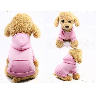 Pet Dog Cat Puppy Sweater Hoodie Coat For Small Pet Dog Warm Costume Apparel HOT 10
