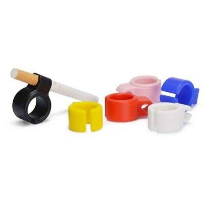 Smoking Cigarettes/Tobacco/Weeds/Joint Holder Metal Ring Finger Hand Free Rack 4