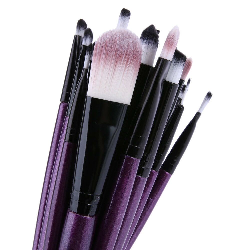 20pcs/Set Pro Makeup Brushes Kit Powder Foundation Eyeshadow Eyeliner Lip Brush 9