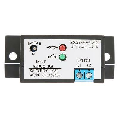 Normally Open Current Sensing Switch Adjustable 0.2-30A SZC23-NO-AL-CH w/LED xi 3