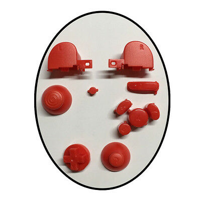Complete Gamecube Controller Mod button set with Thumbsticks Replacement Parts 12