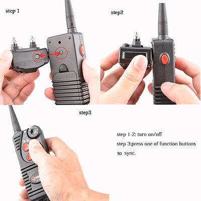 AETERTEK WATERPROOF 550M/600 Yard Remote Dog Shock Training Collar Rechargeable 2
