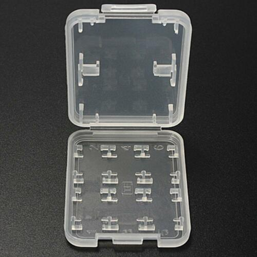 2018 Memory Card Storage Case Holder with 8 Slots for SD SDHC MMC MicroSD Cards