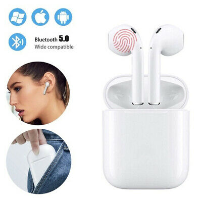 i12 TWS Bluetooth 5.0 Earbuds Wireless Headphones Earphones For iphone Android 11