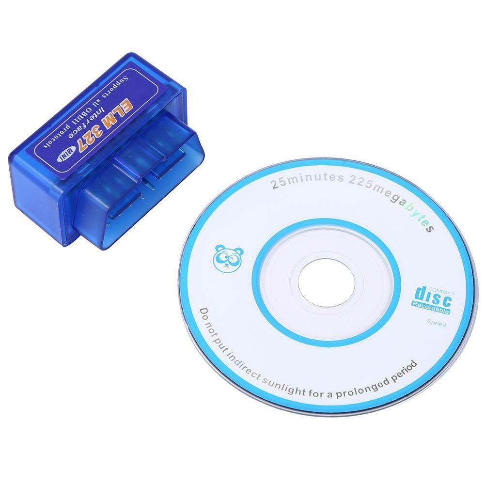 ELM327 Car Auto Wireless Bluetooth V2.1 ODB2 ODB-II Diagnostic Scan Scanner Tool 2